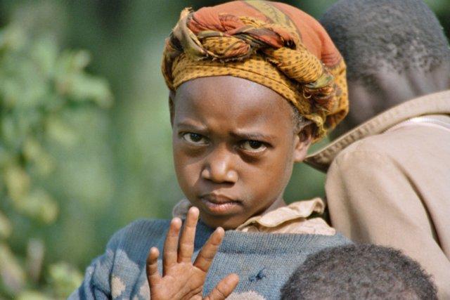 Portret kind, Kenia